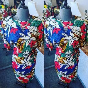 Liz Clairborne Tropical Dress